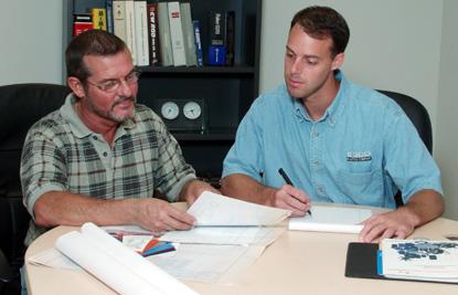 ESCO Staff Designing